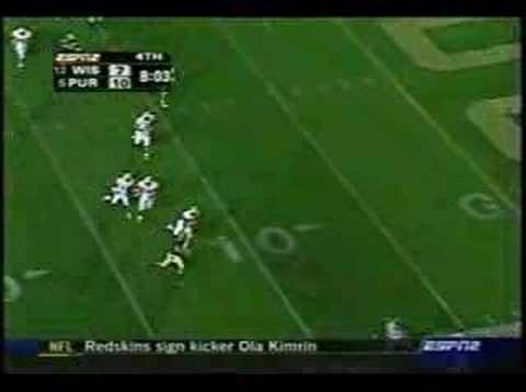 #12 Wisconsin at #5 Purdue 2004
