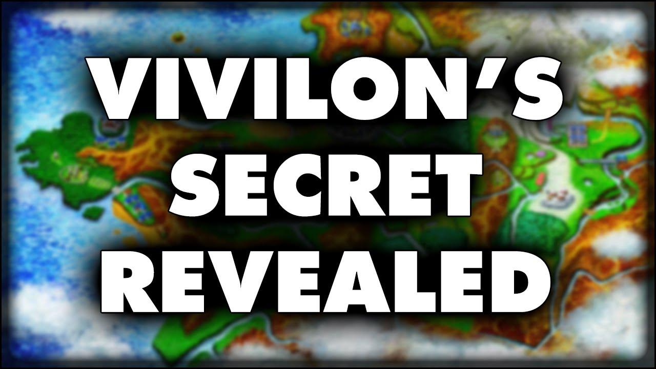 Pokémon X and Y | Vivillon's Secret Revealed - YouTube