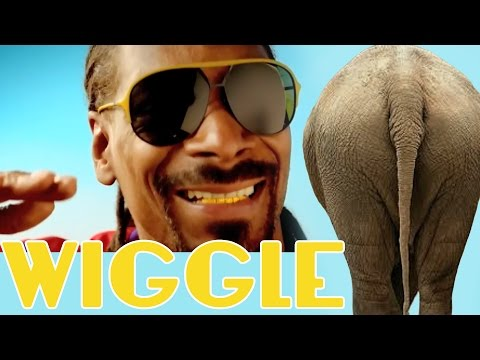 "Jason DeRulo - ""WIGGLE"" feat. Snoop Dogg - ANIMALS DANCING PARODY"