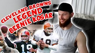 Rugby Player Reacts to BERNIE KOSAR Cleveland Browns NFL Legend!