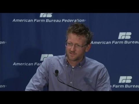 Mark Lynas AFBF News Conference Interview
