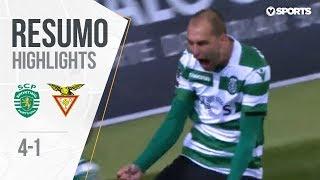 Highlights | Resumo: Sporting 4-1 Aves (Liga 18/19 #12)