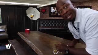 Watch 'American Ninja Warrior' Host Akbar Gbaja Biamila Dominate Drinking Games