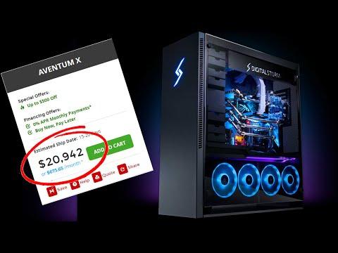 Don't Buy These Prebuilt PCs (DIGITAL STORM'S AVENTUM X IS A RIPOFF)