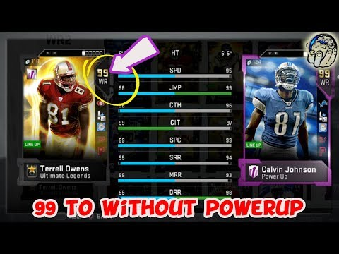 Don't Make this Mistake! DON'T PowerUp 99 Terrell Owens, Here's Why! Madden 19 Ultimate Team