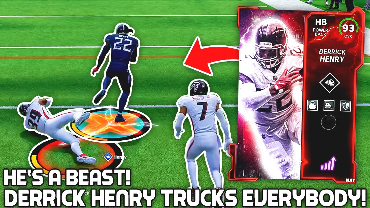 Download Derrick Henry TRUCKS EVERYBODY! He's a BEAST! Madden 22