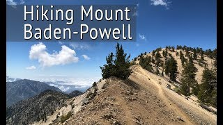 Hiking Mt. Baden-Powell in the San Gabriel Mountains