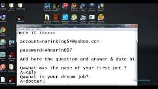 apple id & password & security answer (1) by NARIN FREE APPLE ID