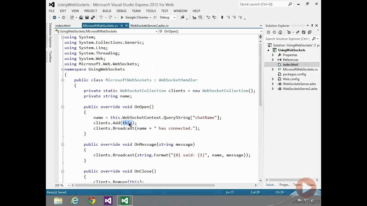 Use ASP NET 4 5 WebSockets the easy way