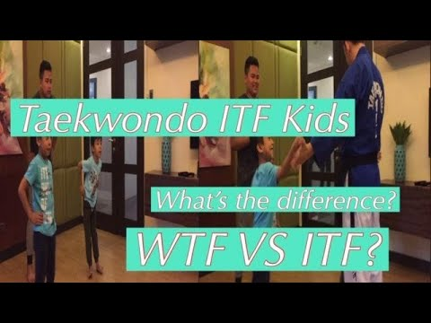 Taekwondo ITF Kids | WTF Vs ITF? What's The Difference?