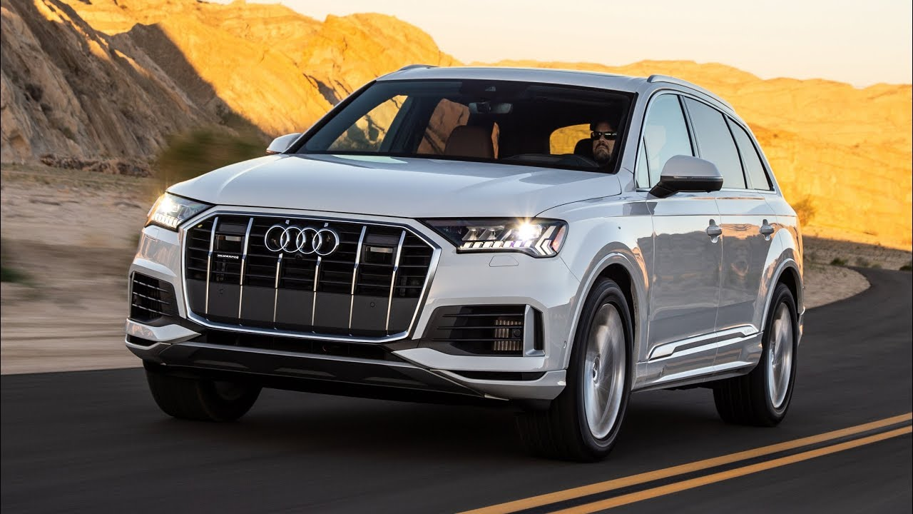 2020 audi q7 update - facelift for the three-row suv - youtube