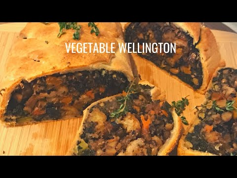 Vegetable Wellington recipe easy