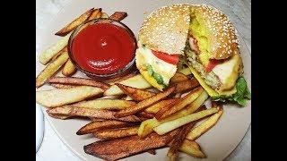 McDonald's или KFC? ДОМАШНИЙ лучше, чизбургер в рецепт/ Cheeseburger лучше чем в Макдональдз