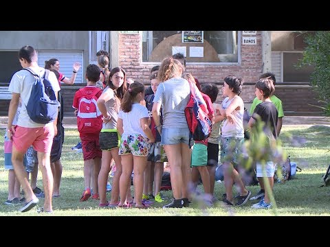 La colonia de vacaciones del Club Universitario de La Plata - Especiales Hoy Interés General