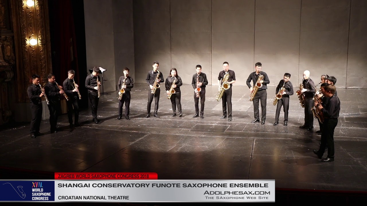 Devil´s Rag by Jean Matitia   Shanghai Conservatory Saxophone Ensemble   XVIII World Sax Congress 20