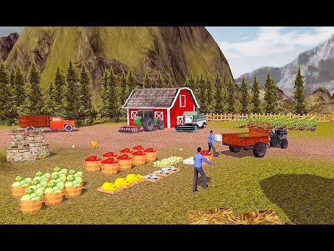 тракторах игр
