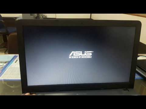 How To Boot Asus Labtop X541U From USB Drive Or CD-ROM