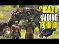 CRAZY RAIDING TECHNIQUE (ARTHROPLEURA) - A NOOBS GUIDE #1 | ARK: Survival Evolved Official