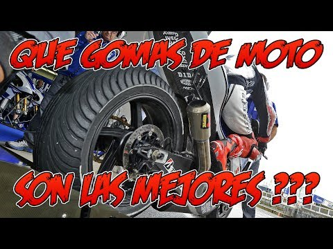 LOS MEJORES NEUMÁTICOS DE MOTO !!! QUE GOMAS MONTAR EN TUS LLANTAS Y PORQUE !!!