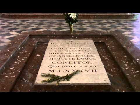 William the Conqueror's Tomb, Caen, France.