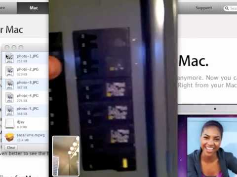 Using facetime to help you find the right circuit breaker - YouTube
