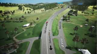 Foxground Berry Bypass Flyover - Travelling South