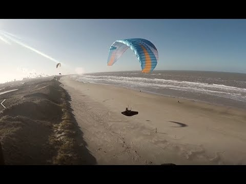 Once Again Wijk - Winter Paragliding The Dunes
