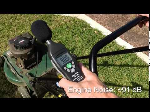 SlimWall Acoustic Properties - Lawnmower Test