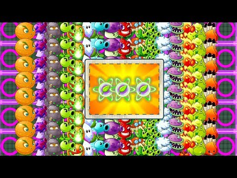 All Tiles POWER-UP! Plants vs Zombies 2 Ultimate Power Every Plant MAX LEVEL