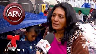 Caravana de migrantes llegó a EE.UU. en medio del caos | Al Rojo Vivo | Telemundo