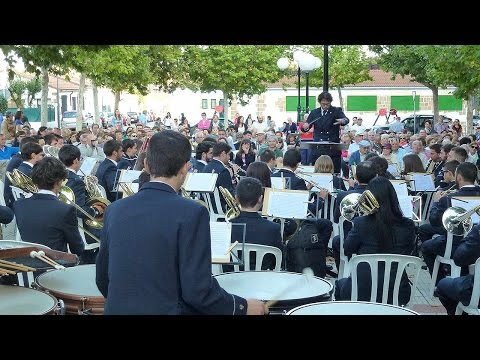 Banda de música de Soria en La Barriada 2015