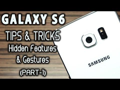 Samsung GALAXY S6 Advanced TIPS & TRICKS, Gestures & Helps [Ep-1]