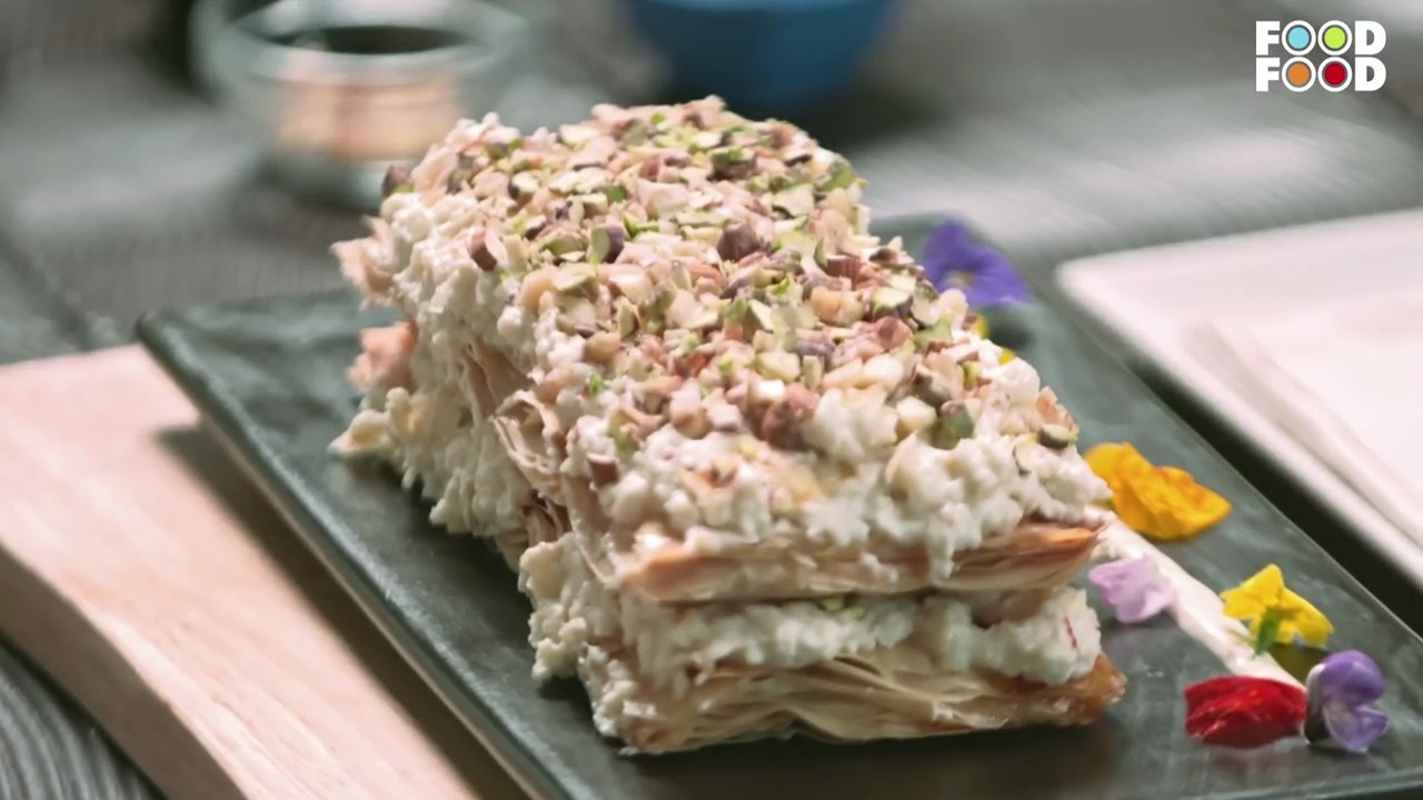 Festive feasts khaja mille feuille chef rakesh sethi youtube festive feasts khaja mille feuille chef rakesh sethi foodfood forumfinder Choice Image