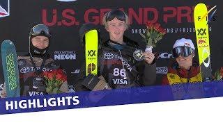 Andri Ragettli takes top honours in Men's Ski Slopestyle in Snowmass   Highlights