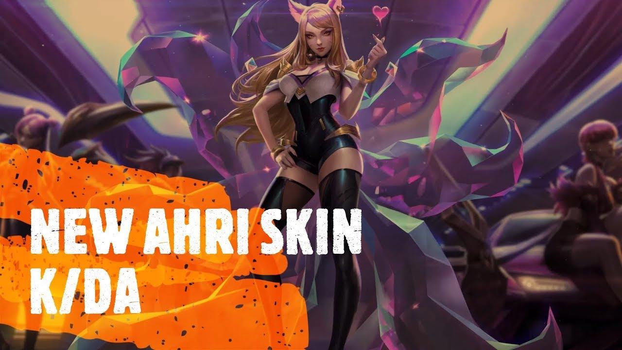 NEW AHRI SKIN | AHRI K/DA BEST SKIN? - AHRI SUPPORT HIGHLIGHTS