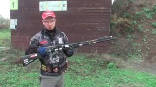 Ружье IPSC, основы стрельбы: вкладка и стойка