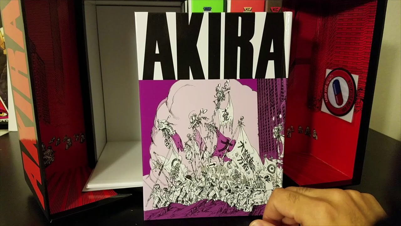 Akira 35th Anniversary Box Set Spotlight Review Youtube