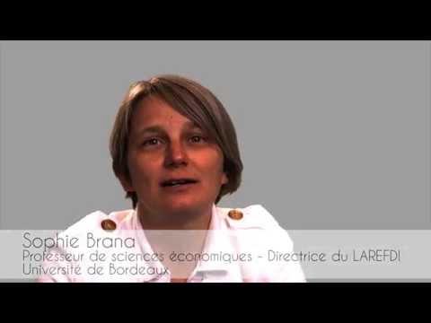 Brana Sophie - Directrice du laboratoire d'économie et finance internationales (LAREFI)