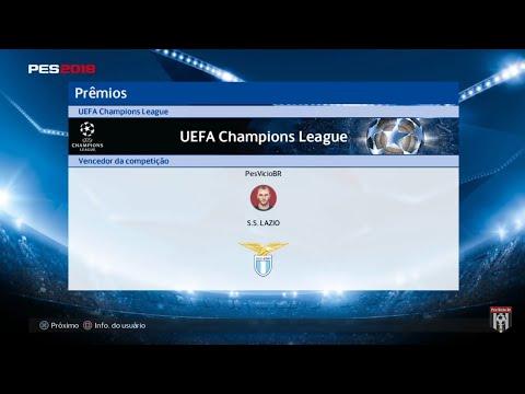 LIVE PES 2018 || UEFA CHAMPIONS LEAGUE ONLINE || MYCLUB E BALL OPEN  #rumoaos14K