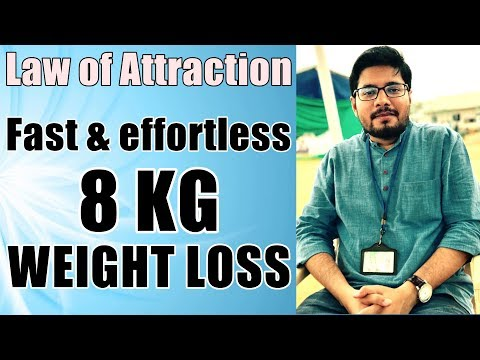 MANIFESTATION #57: Law of Attraction for FAST Weight Loss - How to Use Law of Attraction