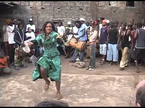 Boka Camara plays Dununba 2005 // NEW UPLOAD