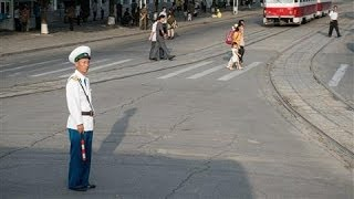 streets of north korea gopro video roadtrip in pyongyang
