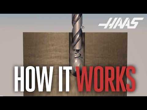 Through-Spindle Coolant - Haas How It Works