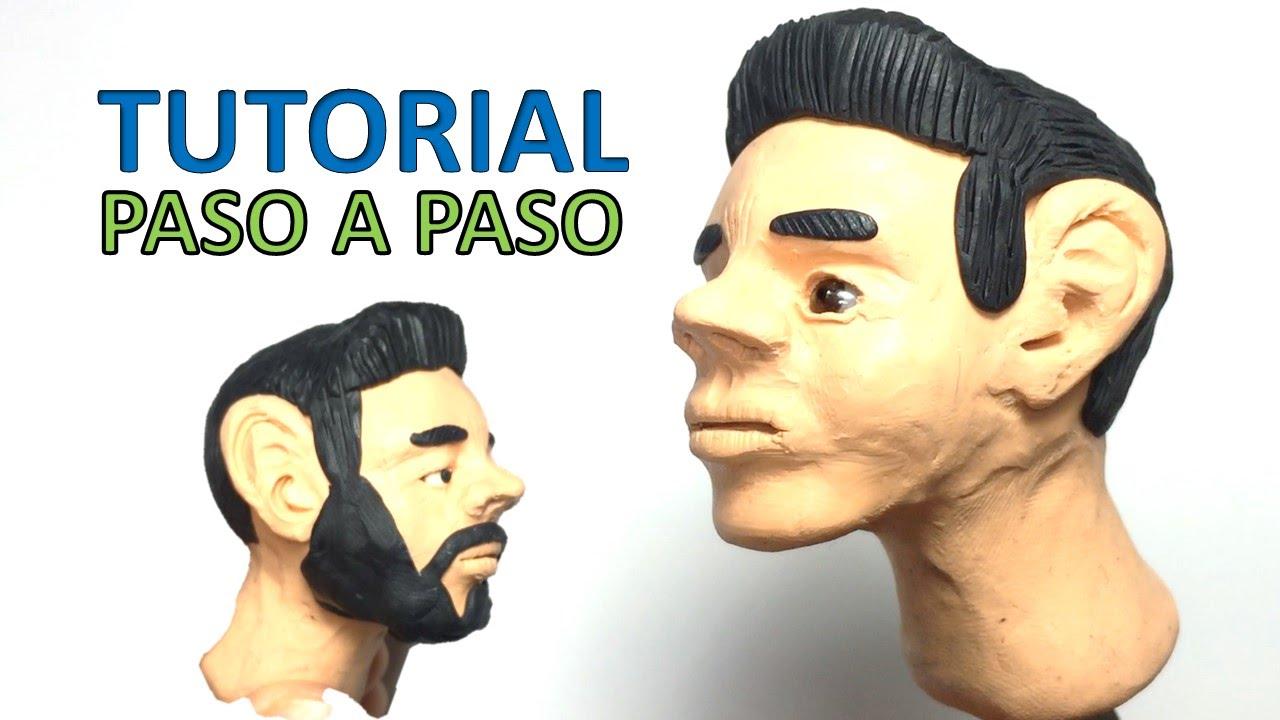 Como hacer un rostro humano de plastilina paso a paso - Como hacer un estor enrollable paso a paso ...