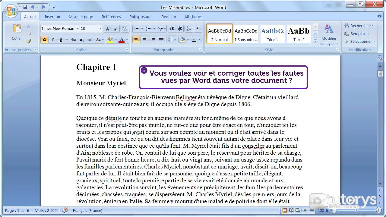 Comment utiliser le correcteur d 39 orthographe de word 2007 youtube - Comment les cambrioleurs reperent ...