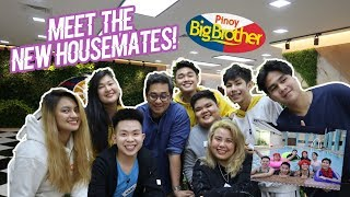 MEET THE NEW PBB HOUSEMATES (HOUSE TOUR SA BAHAY NI KUYA + POOL PARTY!) | RenielReyesTV