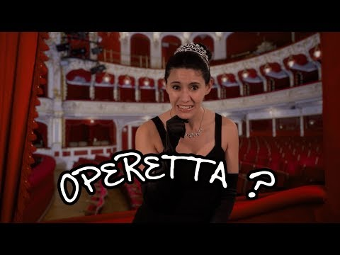 We Love Opera!  What is an operetta? Is it the same as an opera?