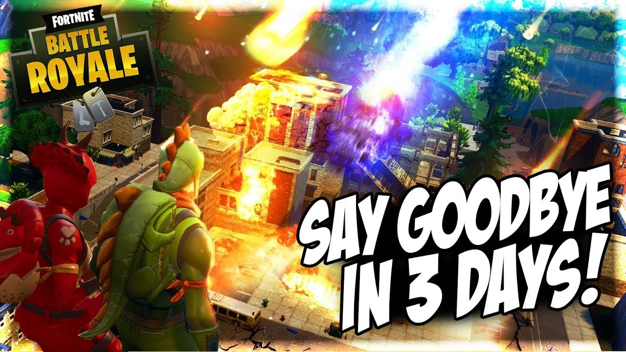 we only have 3 days until tilted towers is gone fortnite teases a brand new map coming - tilted gone fortnite