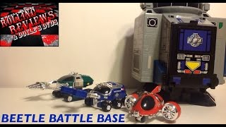 Review: Beetle Battle Base from Big Bad Beetleborgs
