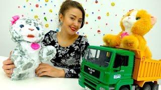 ВИДЕО ДЛЯ ДЕТЕЙ: #веселаяшкола и #КОТЯТА! 🐱🐈 #Игрушки для детей